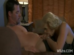 bawdy cleft pounded after blow