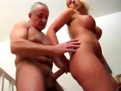 blondie wanks her grandpa!