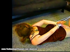 old creep hogties youthful girlfriend