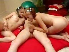 juvenile twin cuties