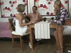 his girlfriend joins three-some fuckfest