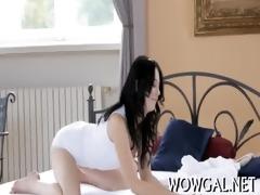 dick enters ravishing pussy