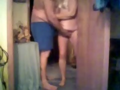 mom and daddy having fun caught by hidden webcam