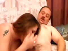 overweight dad fucking big beautiful woman
