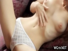 sweetie touches bawdy cleft
