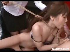 mamma and daddy dominate oriental cutie
