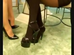 girl rub teachers feet d19