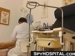 old doctor pervert spying on patient fur pie