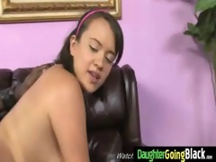 youthful daughter with admirable gazoo screwed by
