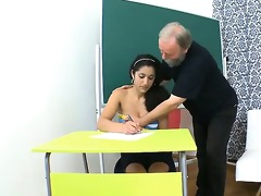 alluring ace fuck with teacher