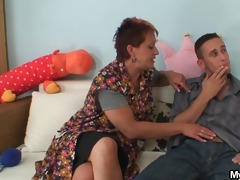 mother in law seduces younger dude whilst his