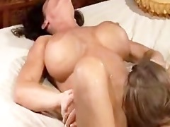mamma squirts allk over her daughter many times