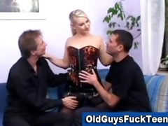 old lads fuck hawt younger chick