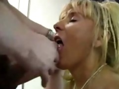 aged breasty cougar fucks younger chap