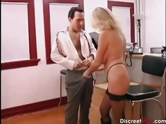hot older secretary seducing younger boss