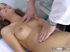 medic receives fingers in veronicas vagina