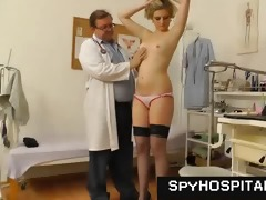 older gyno doctor operates a hidden livecam