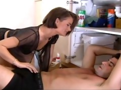 french wife drilled by plumber and spouse