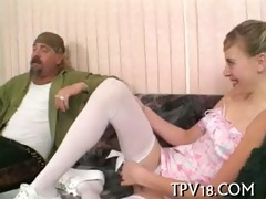 cute legal age teenager honey is screwed