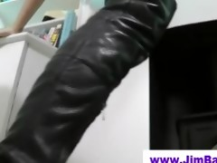 old man fucks british doxy in boots