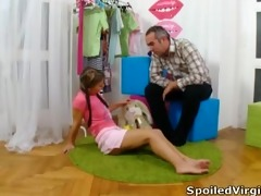 spoiled virgins - anna sits with her guy