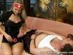 breasty bitch nurse bonks old lad