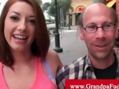 gia love picked up by old dude