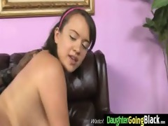youthful daughter with valuable ass drilled by a
