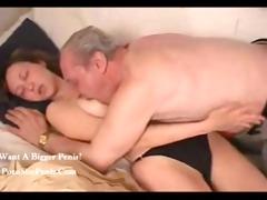 russian older man nailed his granddaughter,,...