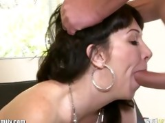 daughter catches mamma getting arse drilled