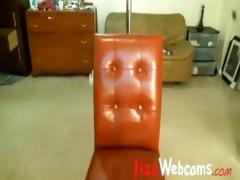 dad roleplay on webcam from schoolgirl