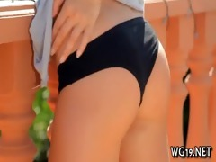 masturbation of cute cutie