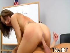 big chap drills schoolgirl