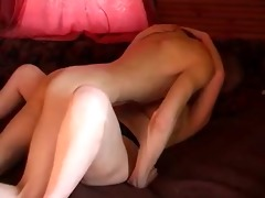 chubby russian redhead with younger paramour