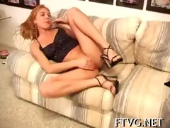angel plays with sex toy
