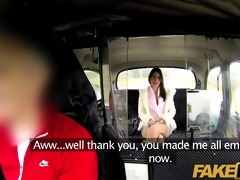 faketaxi pleasant dark brown falls for sugar dad