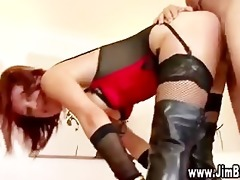 watch old lad fuck redhead in the vagina