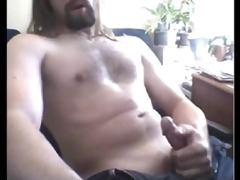 str1 furry chested daddy discharges a priceless