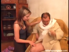 natalli fucking an unattractive old guy - coffee