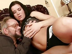 grand-dad enjoys naughty sex with pretty legal