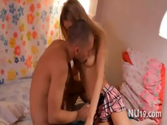 pleasing legal age teenager girl receives drilled