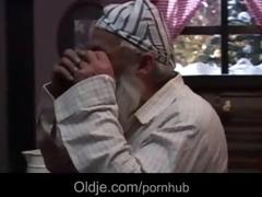 oldman gets on christmas the present of his life