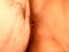 golden-haired babe fantastic creampie st time old