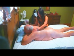 bulky grandpapa erotic massage