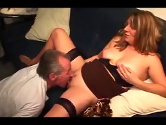 german grand-dad cums in