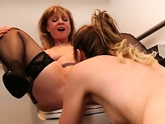 lesbo adventures - mature women younger cuties