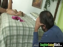 youthful daughter receives pounded by big