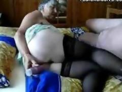 old man and grandma 10 years